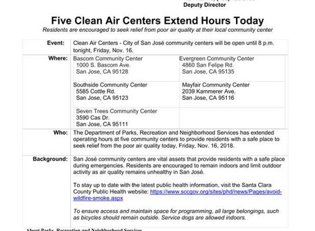 Clean Air Centers Are Available to Get Away from Wildfire Smoke and Air Pollution