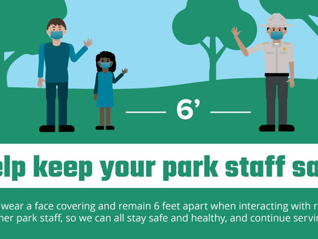 Help Keep Park Staff Safe