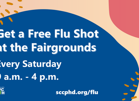 Get A Flu Shot Any Saturday at Santa Clara County Fairgrounds
