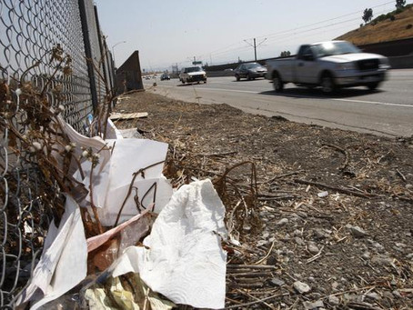 The I-280 Clean-Up Volunteers And The Crazy Thing They Found