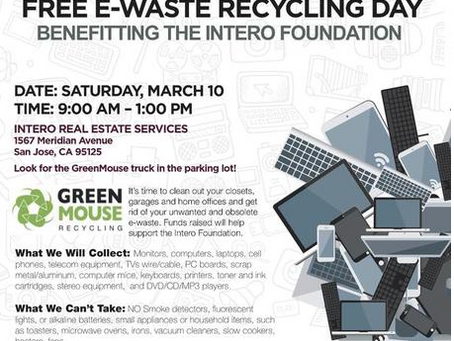 FREE E-Waste Recycling Day!