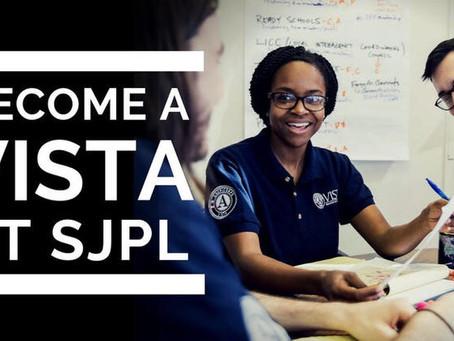 Become a VISTA at SJPL