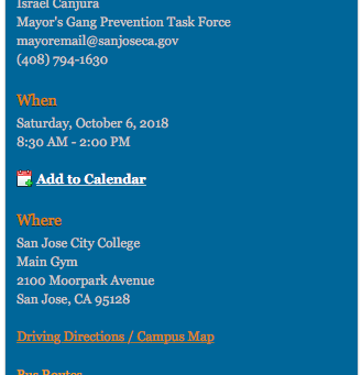 Mayor's Gang Prevention Task Force Summit