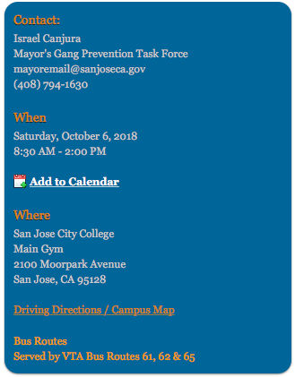 Mayor\'s Gang Prevention Task Force Summit