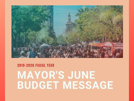Mayors Budget Message
