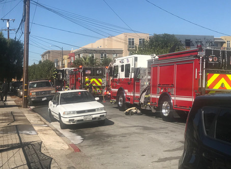 Structure Fire @ 370 Page Street