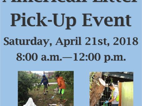 American Litter Pickup Event