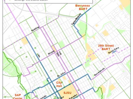 Better Bikeways for Central San José