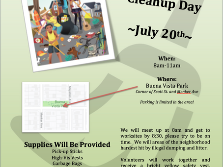 Buena Vista Neighborhood Cleanup
