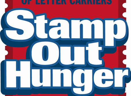 """""""Stamp Out Hunger"""" Food Drive"""