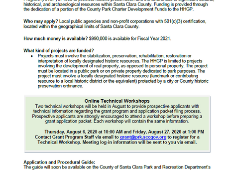 Santa Clara County Grant Workshop