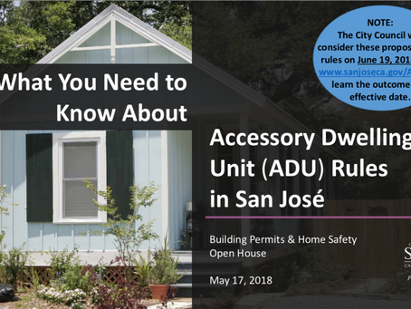 Did you miss the presentations on ADU Requirements and Strengthening Your Home Against an Earthquake
