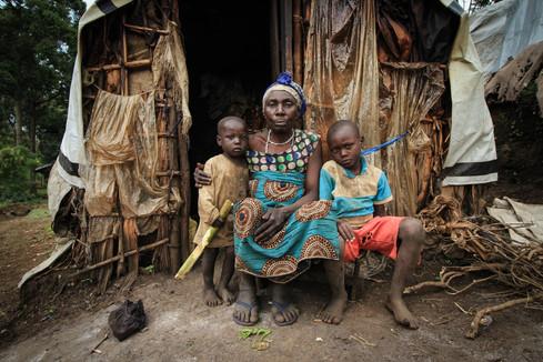 Natchanda, internally displaced in Kahele, D.R. Congo