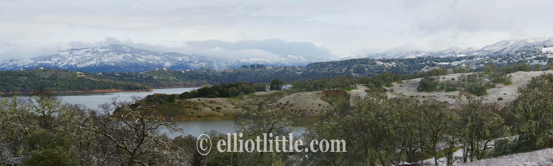 Snowy Lake Mendocino