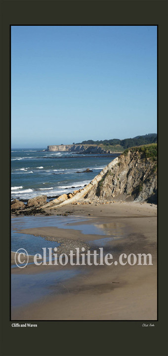 Scroll Cliffs and Waves