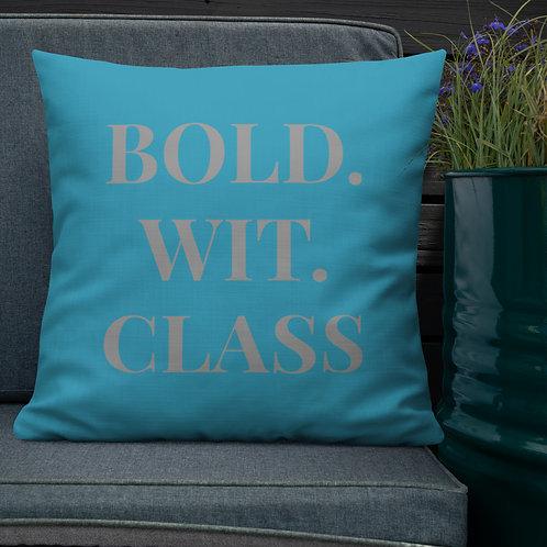 FWC Premium Throw Pillow