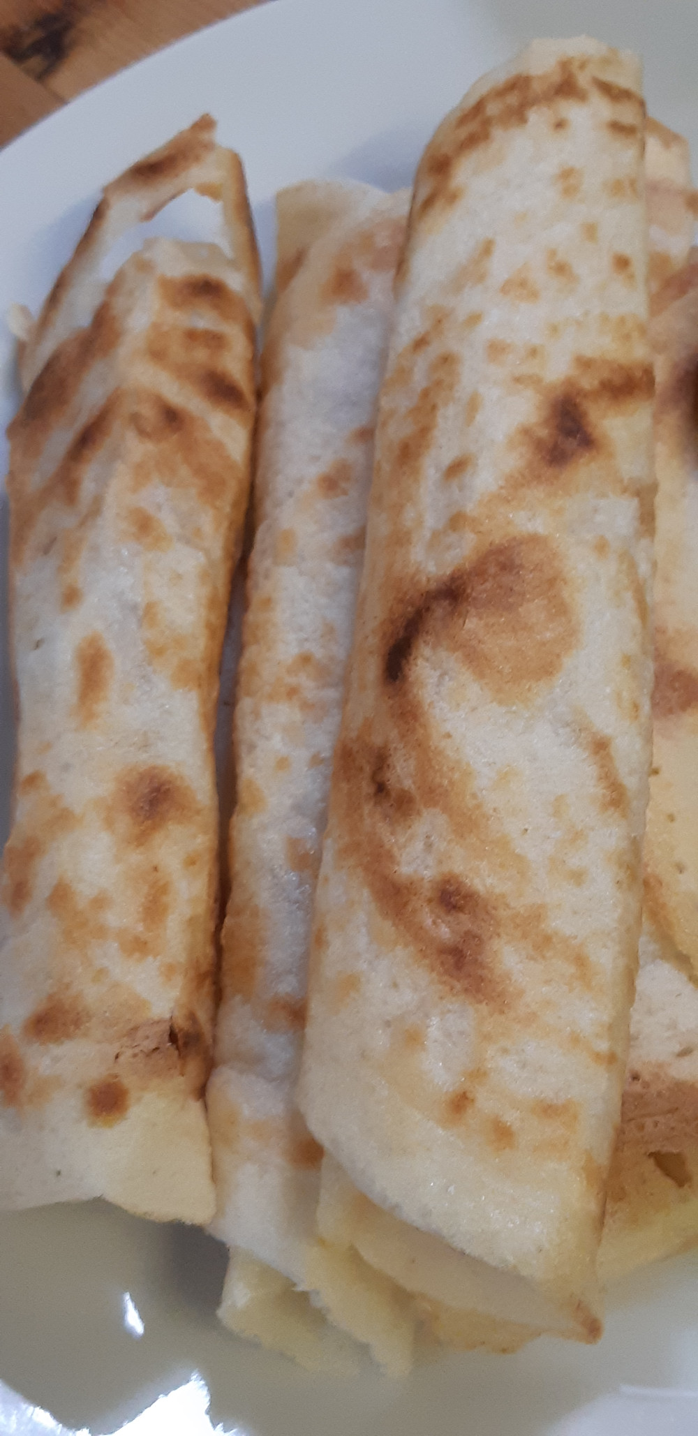 Crispy rolled up dosa's