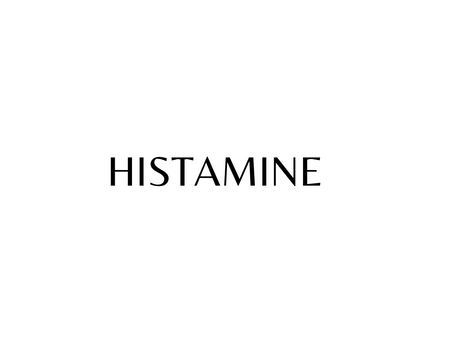 DO YOU HAVE A HISTAMINE INTOLERANCE?