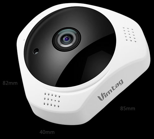 Vimtag® F1 Smart Cloud 360° Panoramic Smart IP Camera 3 megapixel