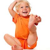 Baby doing yoga iStock_000010365551Small