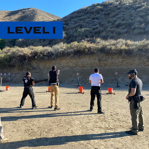 Pistol Course Level I on 06-12-2021