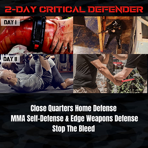 2-DAY CRITICAL DEFENDER - June 24th & 25th