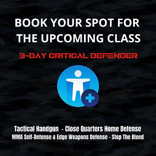 Book Your Spot For June