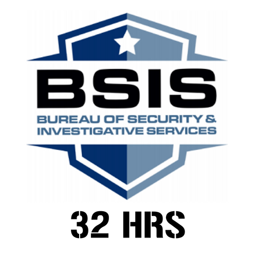 32-HOUR BSIS CONTINUING EDUCATION