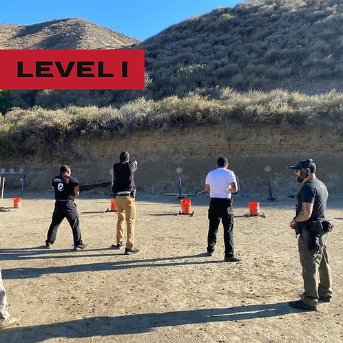 Basic Pistol Level I 04-10-2021