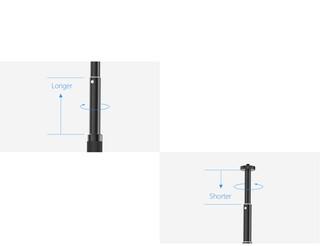 hand grip&tripod extension pole | PGYTECH | Accessories for DJI
