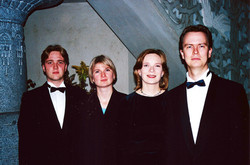 Passion-kvartetti-Tuomiokirkossa-lokakuussa-2000