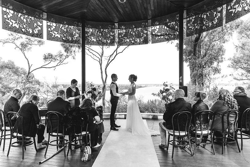 Undercover wedding ceremonies for bad we