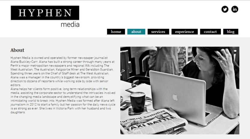 Hyphen Media Website & Photography