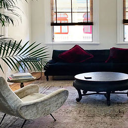 zamia fremantle airbnb_red eclectic elop
