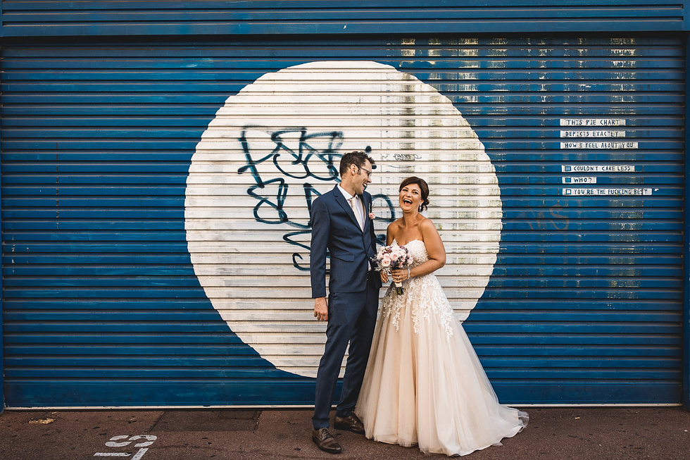 perth city wolf lane wedding by red ecle