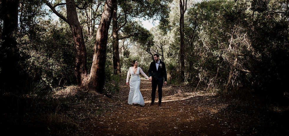 Perth Hills Forest Elopement by Red Ecle