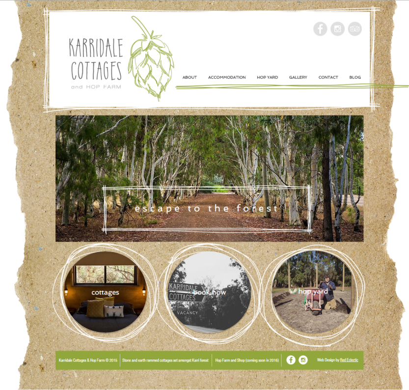 brand identity and photography_karridale-website