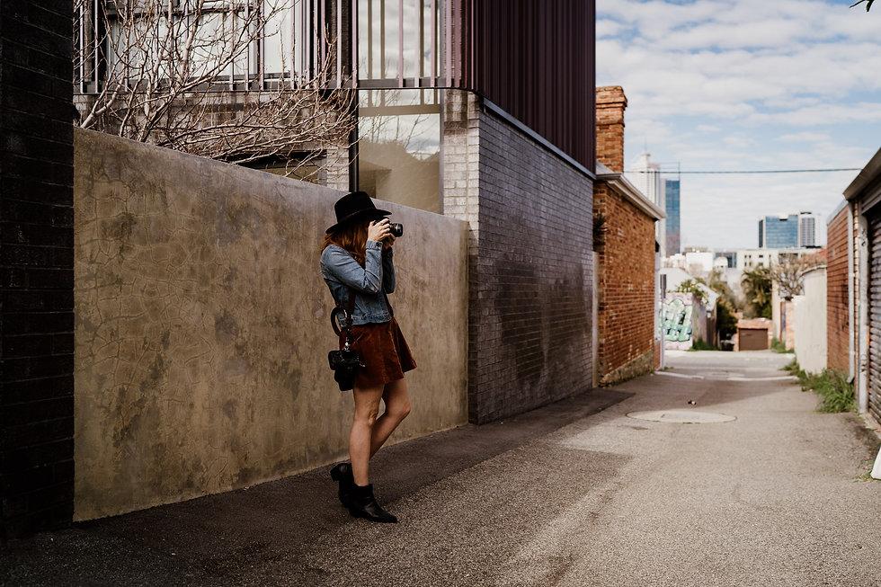 Kat Wray Perth Elopement Photographer at