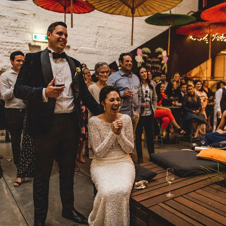 A wedding in the city