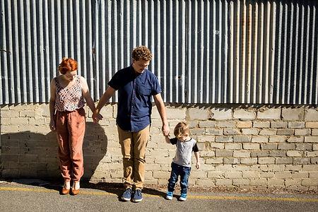natural documentary style family photogr