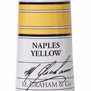 M. Graham Acrylic Naples Yellow 60ml tube