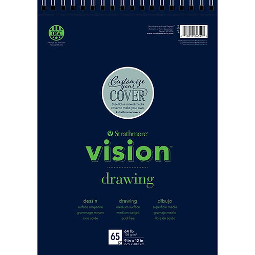 Strathmore Vision Fine Tooth Drawing Pad