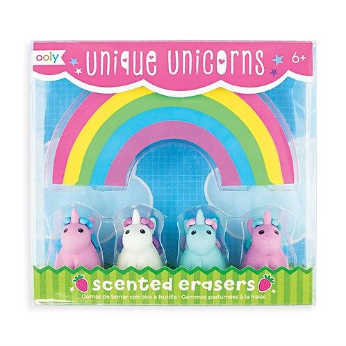 Unique Unicorn Eraser Set