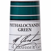 M. Graham Acrylic Phthalocyanine Green 60ml tube