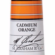 M. Graham Acrylic Cadmium Orange 60ml tube