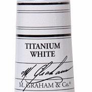 M. Graham Acrylic Titanium White 60ml tube