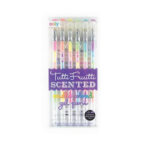 Tutti-Frutti Scented Glitter Gel Pens