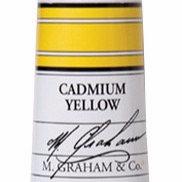 M. Graham Acrylic Cadmium Yellow 60ml tube