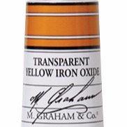 M. Graham Acrylic Transparent Yellow Iron Oxide 60ml tube