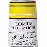 M. Graham Acrylic Cadmium Yellow Light 60ml tube